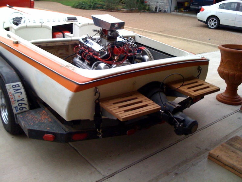 First Jet Boat,76 Sleekcraft